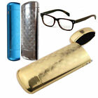 Hard Metal Glasses Case Protector Capsule Spectacle Case Storage Box +CLOTH FREE