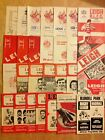 Leigh Rugby League Programmes 1957 - 2009