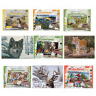 9 DESIGNS CANVAS PAINT BY NUMBERS  LARGE A3 PAINTING KITS Animals - Kids Adults