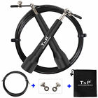 TnP Crossfit Speed Jump Rope Adjustable Skipping Cable Metal Boxing Exercise MMA