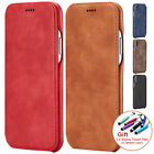 Leather Case For iPhone 5 5SSE XR XS Holster Phone Accessories Flip Cover Pouch