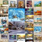 Landscape DIY Digital Oil Painting Kits Paint by Numbers Canva Wall Home Decor
