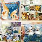 Animals Cushion Cover Making kits Latch Hook Rug For Adults Beginners Embroidery