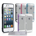 Accessories For The Apple iPhone 5 Clear Hard Tough Case Cover & Screen Film UK