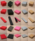 12 High Quality Jewellery Gift Boxes Bag Necklace Bracelet Ring Small Wholesale