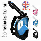 2019 Swimming Full Face Mask Diving Snorkel Goggle Surface Snorkeling For GoPro