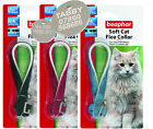 Cat Flea Collar, Beaphar Soft Collars, With or Without Engraved Pet ID Tag, Tags