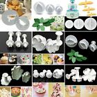 Cake Fondant Sugarcraft Mold Icing Plunger Flower Cutters Decorating Mould Tools
