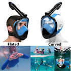 LEUCOTHEA 2019 Version Full Face Diving Snorkel Mask Security Buckle Fit Gopro