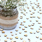 Wedding Table Decorations | Rustic Small Wooden Hearts | 4 Sizes | Confetti Love