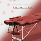 Portable Folding Massage Table Lightweight Couch Bed Beauty Salon Tattoo Therapy