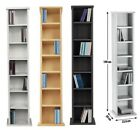 NEW CD Rack Wooden Storage DVD Shelving Unit Tower Organiser Music Shelf,5 Type