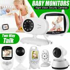 2.4GHz Baby Monitor Wireless HD Video IR Night Vision Home Pet Security Camera