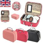 Large Make Up Nail Tech Cosmetic Box Jewellery Vanity Storage Case Bag Travel UK