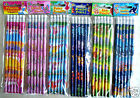 Childrens Character Pencils Party Bag Fillers - 25 Designs / Choose Design & Qty