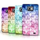 STUFF4 Phone Case/Back Cover for Samsung Galaxy S2/SII /Colour Cube