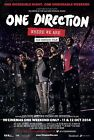 0594 Vintage Music Poster Art - One Direction The Concert Film