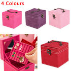 Cube Necklace Jewellery Display Collection Storage Vintage Box Case Organiser
