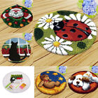 Latch Hook Rug Making Kits for Beginners Ladybug Bear Dog Cat Embroidery Kit