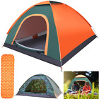 3-4 Man Persons Automatic Pop Up Tent Outdoor Hiking Waterproof Camping Fishing