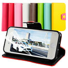 Accessories Apple iPhone 5 5S 4 4S Stand Wallet PU Leather Case Cover Free Film