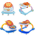 New 4 In1 Multi Function Baby Musical Play / Feed Station & Push Walker 2 Colors