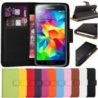 Leather Flip Wallet Stand Case Cover For Samsung Galaxy S3 S4 S5 Mini Core Prime