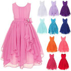 Girl s Flower Bridesmaid Dress Wedding Birthday Party Prom Gown Dresses For Kids