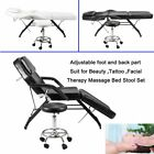 Portable Beauty Salon Chair Massage Recliner Tattoo Facial Couch Bed SP
