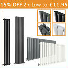 Oval Column Radiator Vertical Design Tall Upright Central Heating Radiators