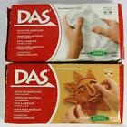 DAS AIR DRYING MODELLING CRAFT CLAY - WHITE OR TERRACOTTA - 150g OR 500g OR 1kg
