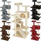 Cat tree scratcher scratching post toy activity centre sisal for cats