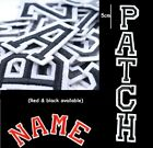 A-Z Letter Patch Patches Iron on / Sew on Retro Alphabet Embroidery Clothes 1308
