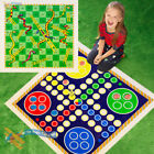 NEW Giant Snakes and Ladders or Ludo plastic Play Mat Traditional Childrens Game