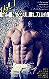 Gay Masseur Erotica, Vol. 1: Muscle Man-on-Man Interracial Sex Sauna Shower Jock Worship (The Massage Parlor)